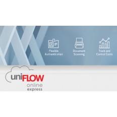 За управление на печат Canon uniFLOW Online Express