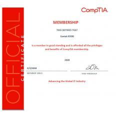 Сертификат CompTIA